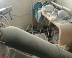 أكثر من 50 حالة اختناق في قصف