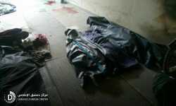 28 مجزرة في سوريا الشهر الماضي