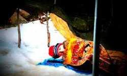 خيم تؤوي عائلات سورية فوق الثلج... ويوميات مجبولة بالقهر والانتظار