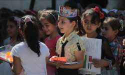 200 ألف طالب أنهوا عامهم الدراسي في مناطق درع الفرات