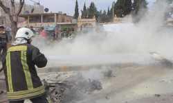 نشرة أخبار سوريا- انفجار سيارة مفخخة في إعزاز، وتشكيل مجلس محلي في عفرين -(12-4-2018)