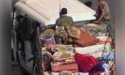 جيش النظام يسرق المنازل والمعارضة تلقبه بعافش
