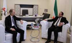 هذا ما ناقشته هيئة التفاوض مع المبعوث الأممي الجديد إلى سوريا
