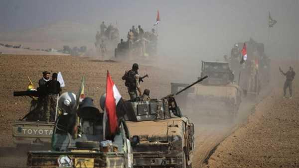 النظام يتكبد عشرات العناصر في قصف أمريكي على موقع عسكري بدير الزور