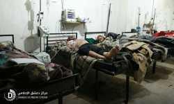 انخفاض حدة القصف في الغوطة بالتزامن مع