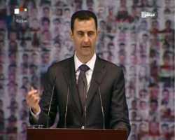 الأسد يؤكد