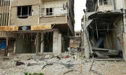 قوات النظام تبدأ يومها بمجزرة في دوما خلفت 13 شهيداً