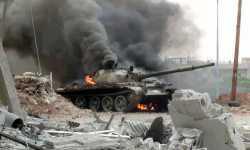 قوات النظام تحاول شق طريق إلى