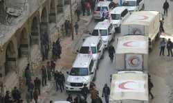 محلّي دوما: نظام الأسد أحرق المساعدات التي أدخلتها الأمم المتحدة