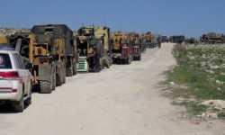 تركيا تثبت نقطة مراقبة ثامنة في إدلب