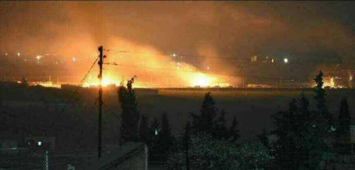 سلاح الجو التركي يدمّر رتلاً عسكرياً للميلشيات الانفصالية قرب عفرين