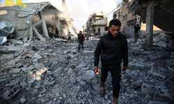 ضحايا في قصف جوي على