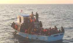 خفر السواحل التركي ينقذ 84 سورياً في مياه البحر المتوسط
