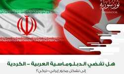 هل تفضي الدبلوماسية العربية-الكردية إلى تشكل محور إيراني-تركي؟