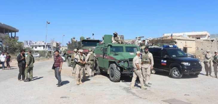 الشرطة الروسية تقيم أربع نقاط مراقبة على حدود الجولان المحتل
