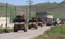ماذا تفعل الدوريات التركية قرب تل رفعت؟