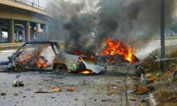 أخبار سوريا_  مقتل 16 شخصًا بينهم 10 أطفال وخمس نساء جراء استهداف حافلة نقل في دير الزور، وقوات الأسد تتّخذ سياسة الأرض المحروقة في حي جوبر _  (3-9- 2014 )