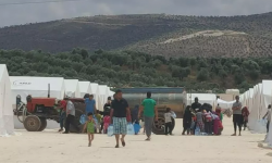أوضاع كارثية في مخيم دير بلوط .. ألف عائلة بلا ماء شرب لمدة أسبوع