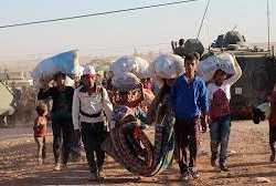 لجوء أكراد سوريا لتركيا وفرضية المنطقة العازلة