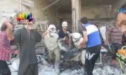 أخبار سوريا_ أكثر من 20 شخصاً في مجزرة جديدة بالبراميل المتفجرة على دوار الحيدرية في حلب، والإعلان عن توحّد عسكري جديد في الغوطة_ (4+5-9-2014)