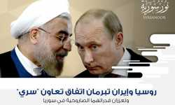 """روسيا وإيران تبرمان اتفاق تعاون """"سري"""" وتعززان قدراتهما الصاروخية في سوريا"""