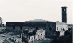 الجامع العمري.. مدينة بصرى الشام