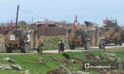 حصاد أخبار الاثنين- تسيير دورية تركية جديدة بين إدلب وحماة، والشرطة العسكرية تدعو المتظاهرين إلى التهدئة في مدينة الباب -(25-3-2019)