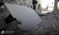 قصف مدفعي يستهدف سوق دوما الشعبي ويوقع 4 ضحايا مدنيين