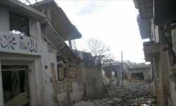 القصف والحصار يحولان كفرزيتا السورية إلى بلدة أشباح