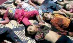 تنديداً بمجزرة الحولة التابعة لريف حمص