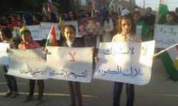 عودة المظاهرات ضد حزب الاتحاد الديمقراطي بسوريا