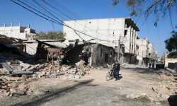 الإغاثة الدولية تعلن حرستا ومديرا في الغوطة الشرقية منطقتين منكوبتين