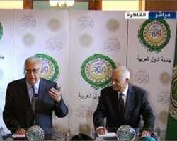 العربي يلتقي الإبراهيمي واجتماع بشأن سوريا