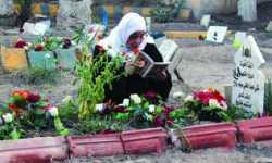 حدائق دير الزور تحولت لمقابر
