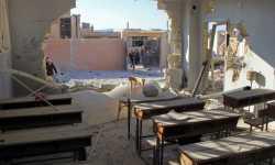 إحصائية: ميلشيات الأسد والطيران الروسي دمروا  44 مدرسة في إدلب