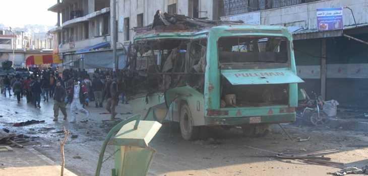 ضحايا مدنيون جراء تفجير استهدف
