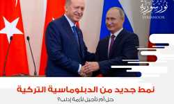 نمط جديد من الدبلوماسية التركية؛ حل أم تأجيل لأزمة إدلب؟