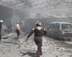 21 حادثة اعتداء على المراكز الحيوية المدنية في سوريا خلال أيار