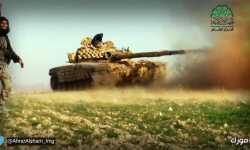 المجاهدون يستنزفون حزب الله في يبرود، و يسيطرون على 7 حواجز و يدمرون طائرتين و20 دبابة في عموم سوريا