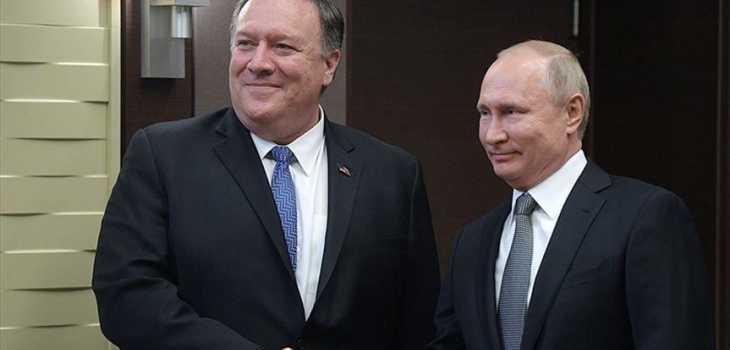 بومبيو: محادثاتي مع بوتين حول سوريا