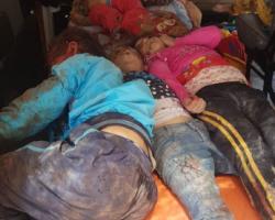 مجزرة روسية تخلف عشرات الضحايا في