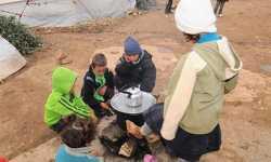 النازحون السوريون يسطرون أسطورة البقاء على قيد الحياة