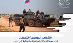 القوات الروسية تتدخل للحد من انتهاكات الميلشيات الموالية في حلب