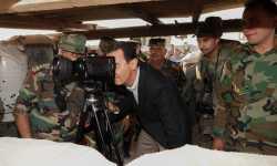 ماذا يفعل بشار الأسد في الهبيط؟ (صور)