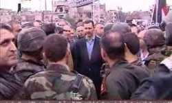 زيارة الأسد لبابا عمرو والرسائل المتناثرة
