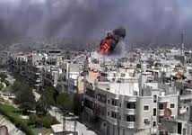 بعد أن شاهد الدمار.. صحفي روسي: حمص تشبه الشيشان 2000