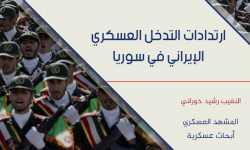 ارتدادات التدخل العسكري الإيراني في سوريا