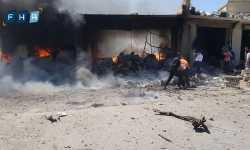 لواء سمرقند ينعى ثلة من مقاتليه في تفجير