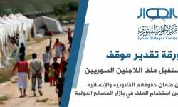 مستقبل ملف اللاجئين السوريين: بين ضمان حقوقهم القانونية والإنسانية وبين استخدام الملف في بازار المصالح الدولية