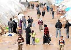 تنظيم الدولة يهجّر 2100 عائلة بريف حلب الشرقي